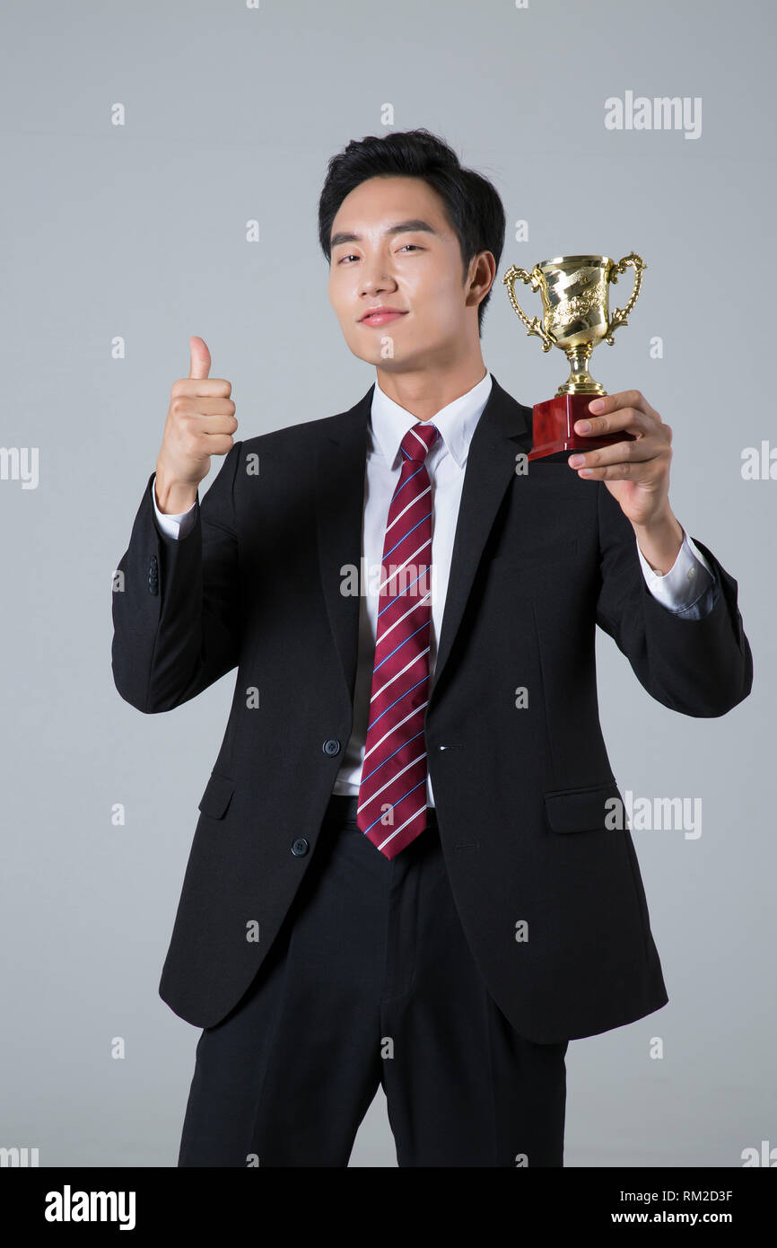 Young businessman concept photo. 120 - Stock Image