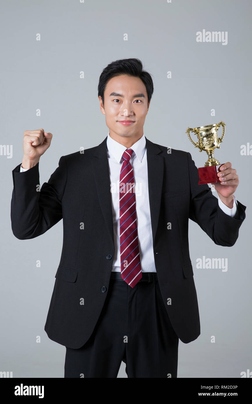 Young businessman concept photo. 116 - Stock Image