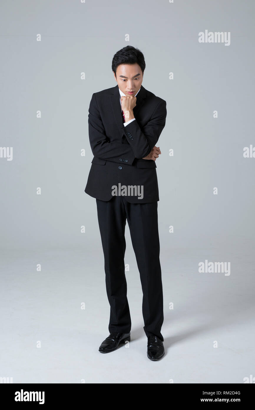 Young businessman concept photo. 113 - Stock Image