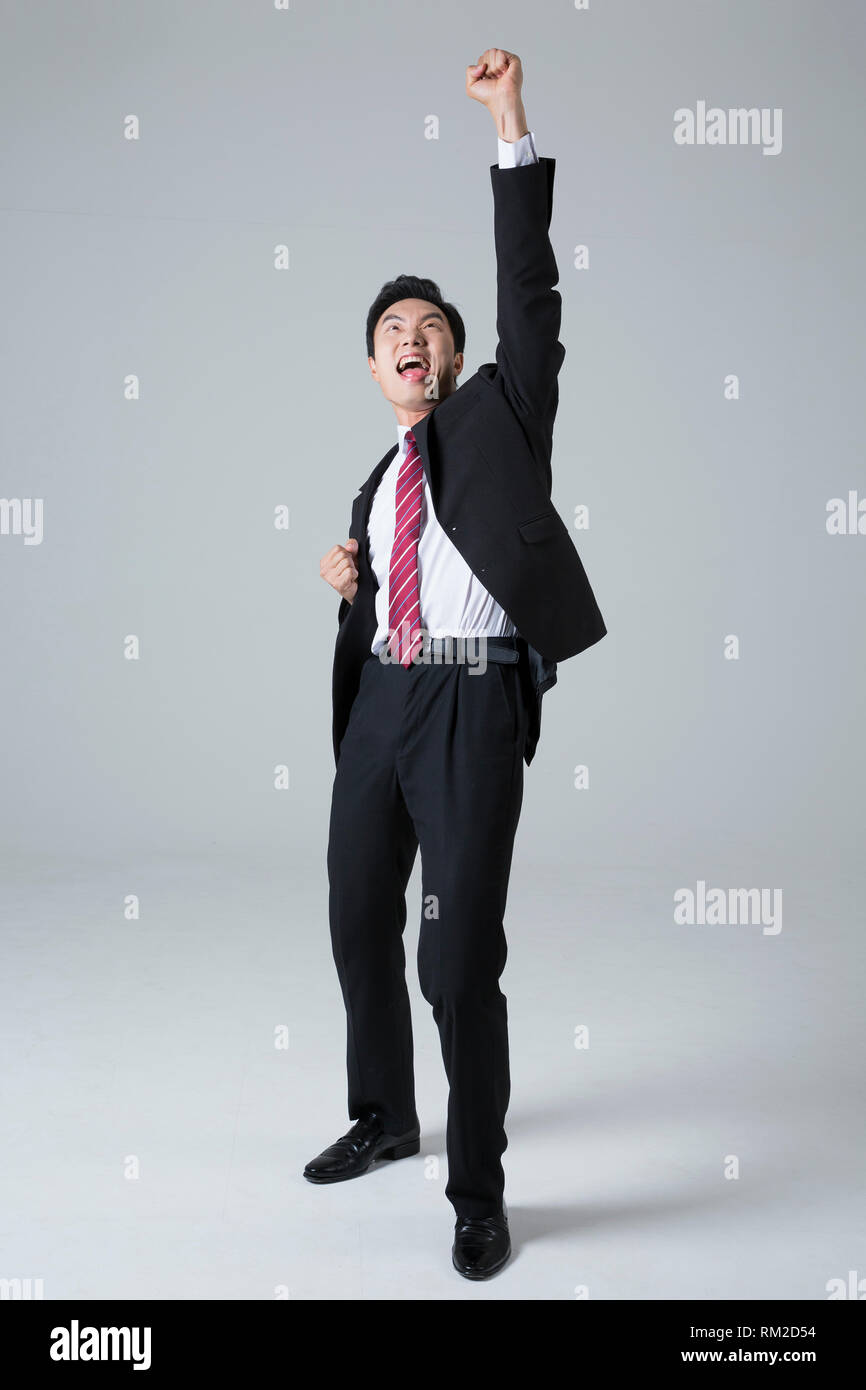 Young businessman concept photo. 112 - Stock Image