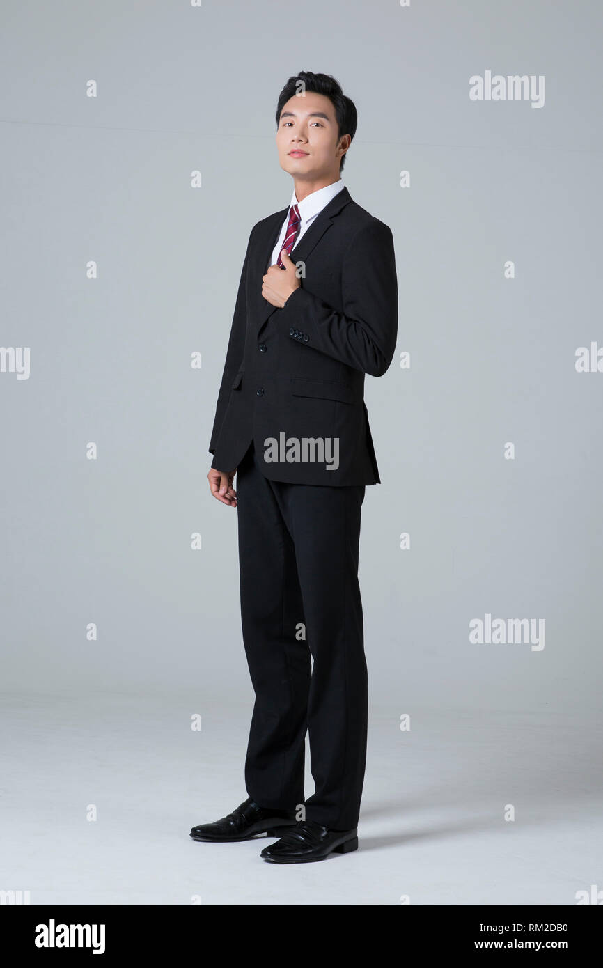 Young businessman concept photo. 075 - Stock Image