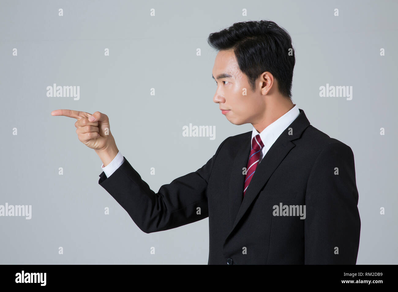 Young businessman concept photo. 071 - Stock Image
