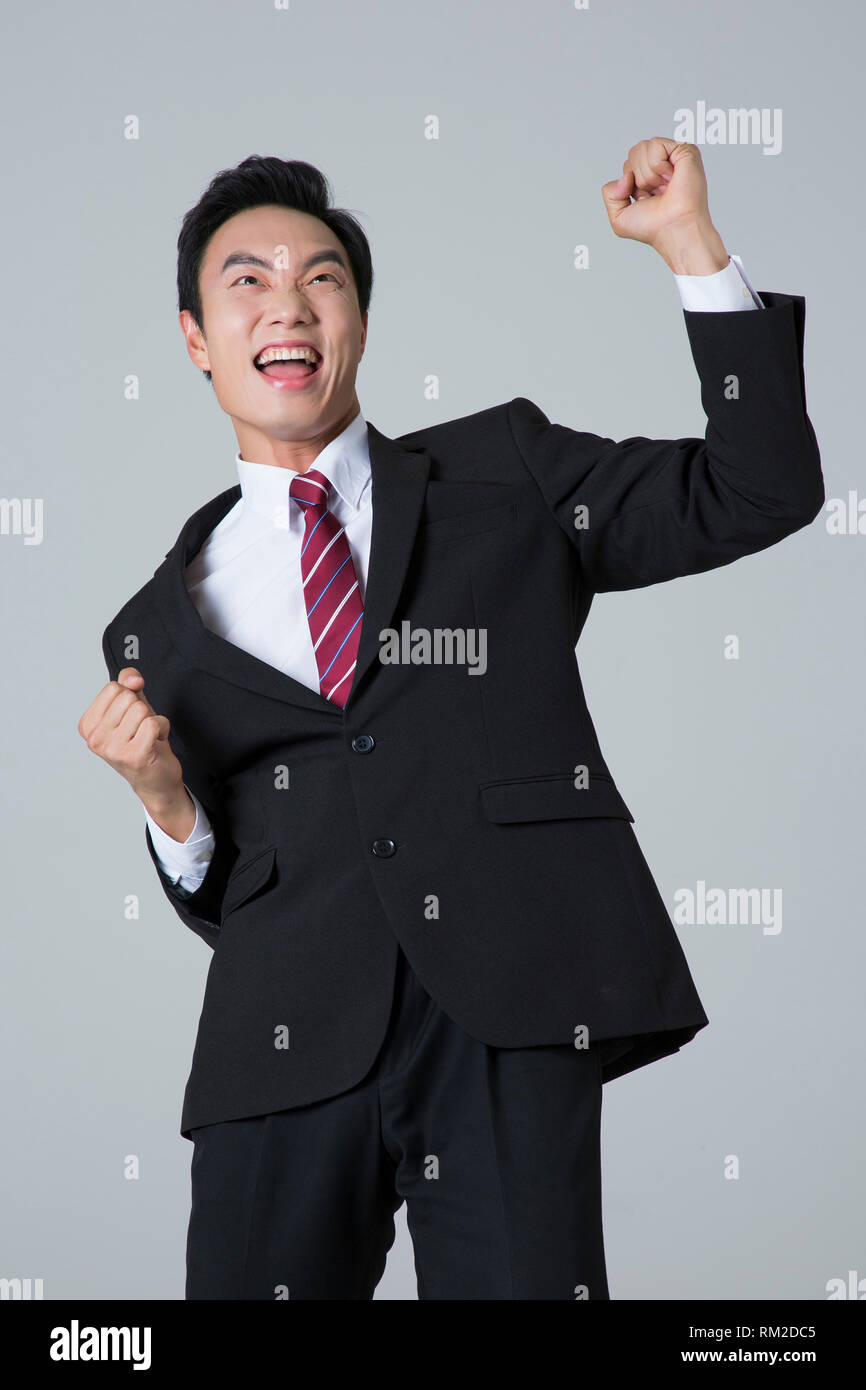 Young businessman concept photo. 067 - Stock Image
