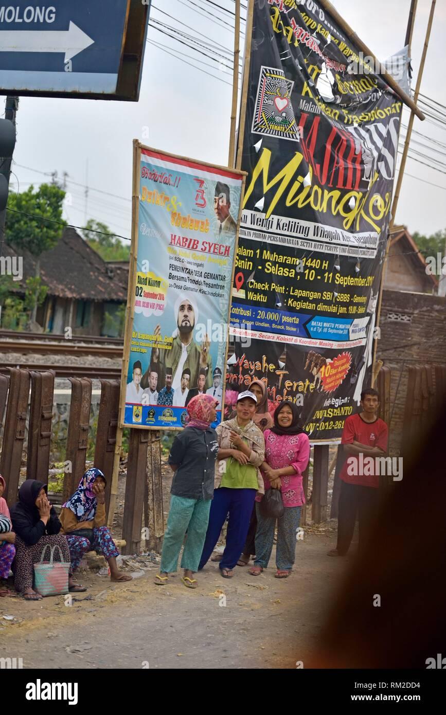 Solo (Surakarta), Java island, Indonesia, Southeast Asia. - Stock Image