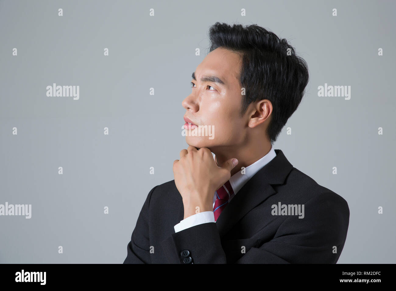Young businessman concept photo. 041 - Stock Image