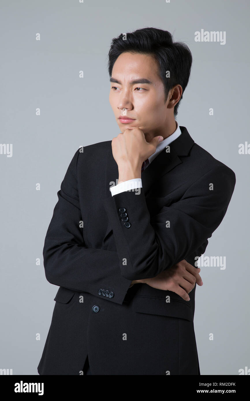 Young businessman concept photo. 039 - Stock Image