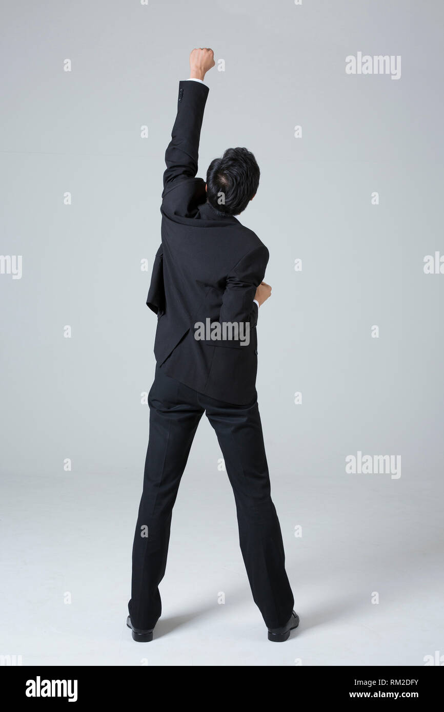 Young businessman concept photo. 037 - Stock Image