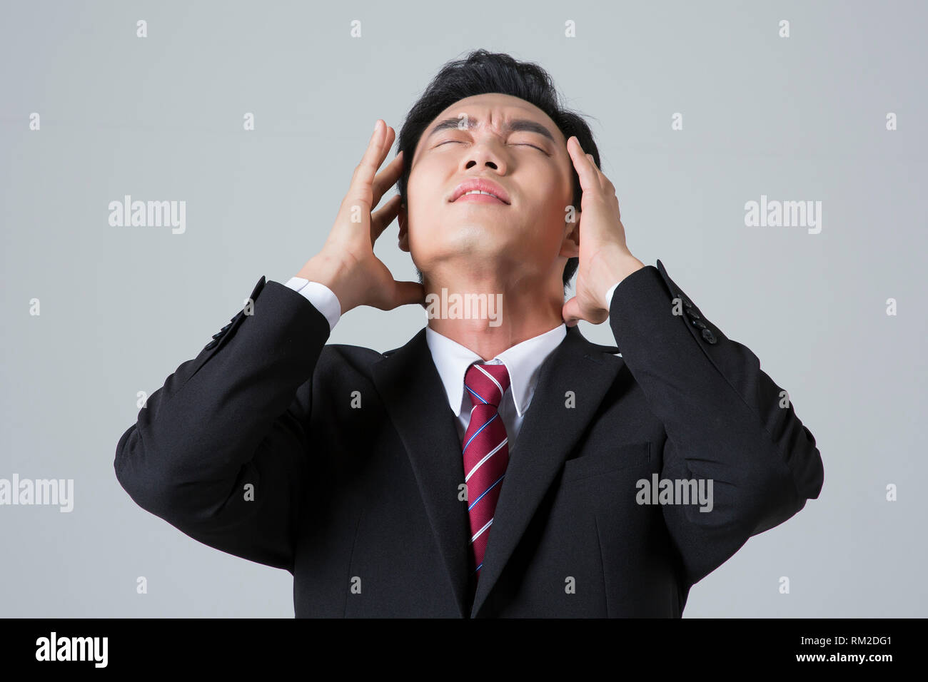 Young businessman concept photo. 036 - Stock Image
