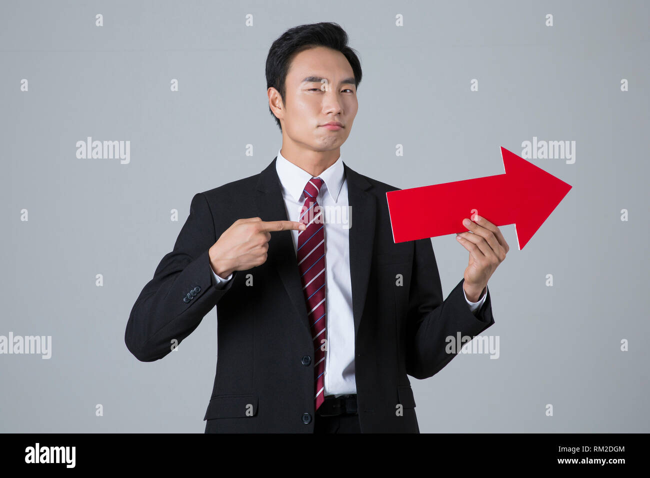 Young businessman concept photo. 031 - Stock Image
