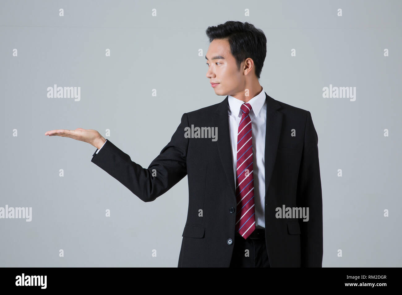 Young businessman concept photo. 030 - Stock Image