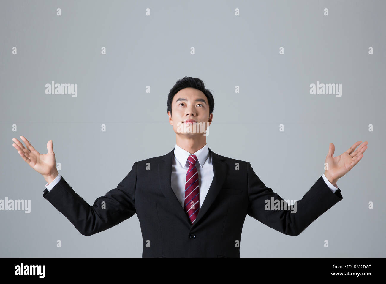 Young businessman concept photo. 029 - Stock Image