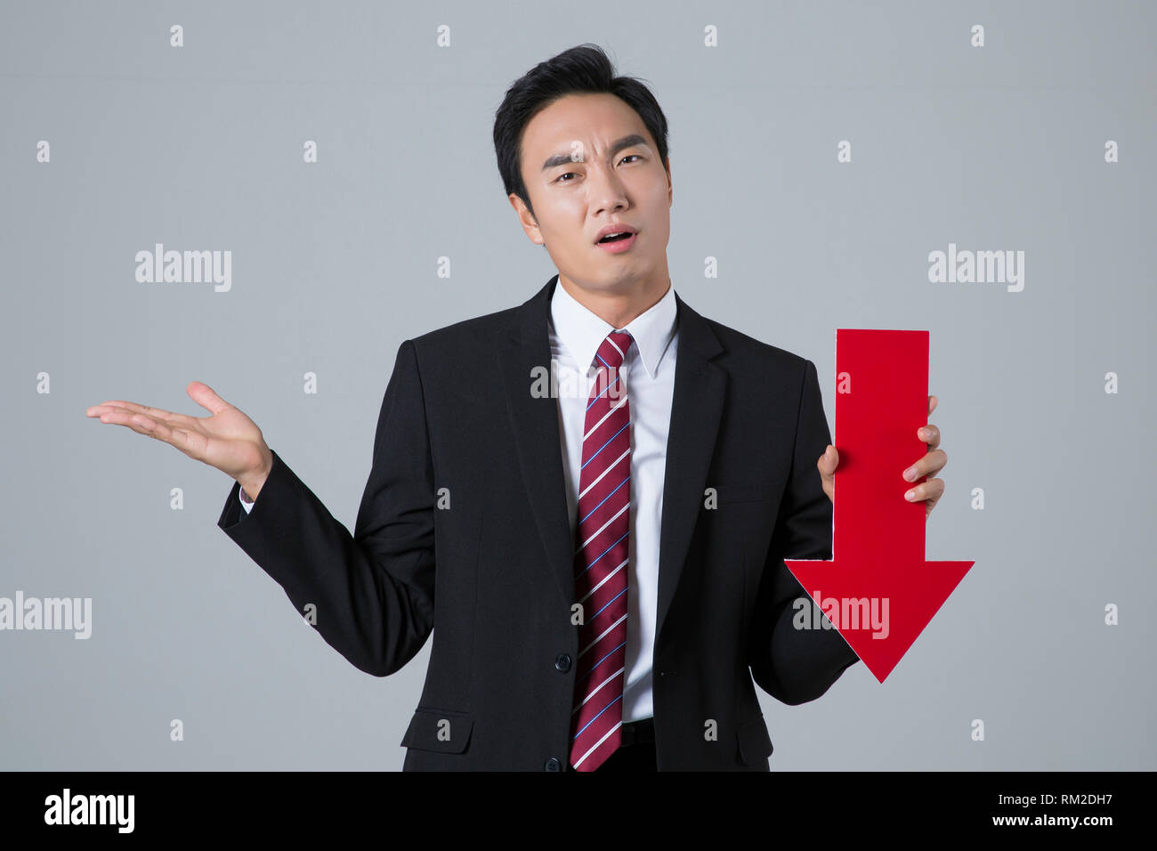 Young businessman concept photo. 026 - Stock Image