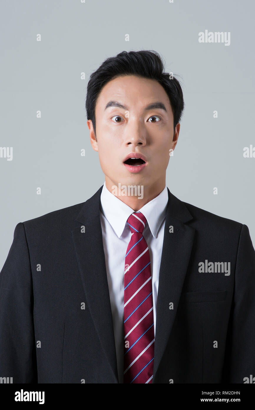 Young businessman concept photo. 022 - Stock Image