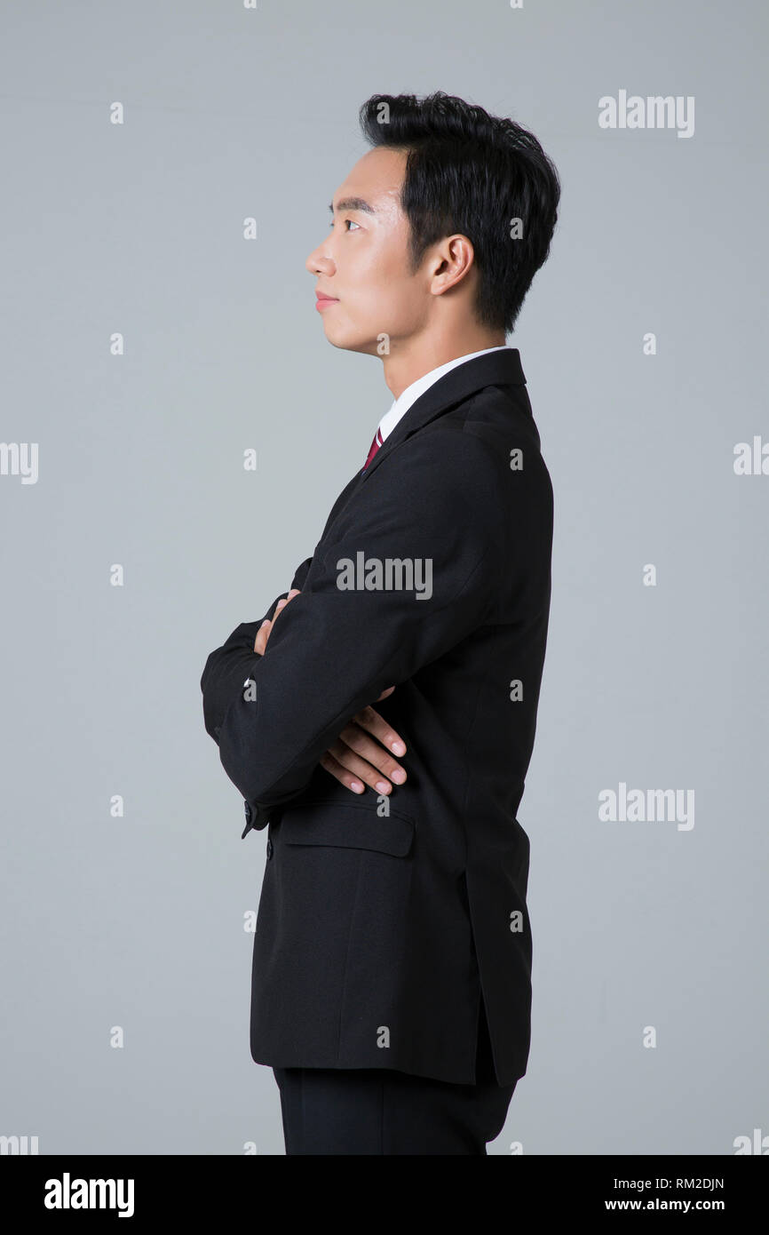 Young businessman concept photo. 014 - Stock Image