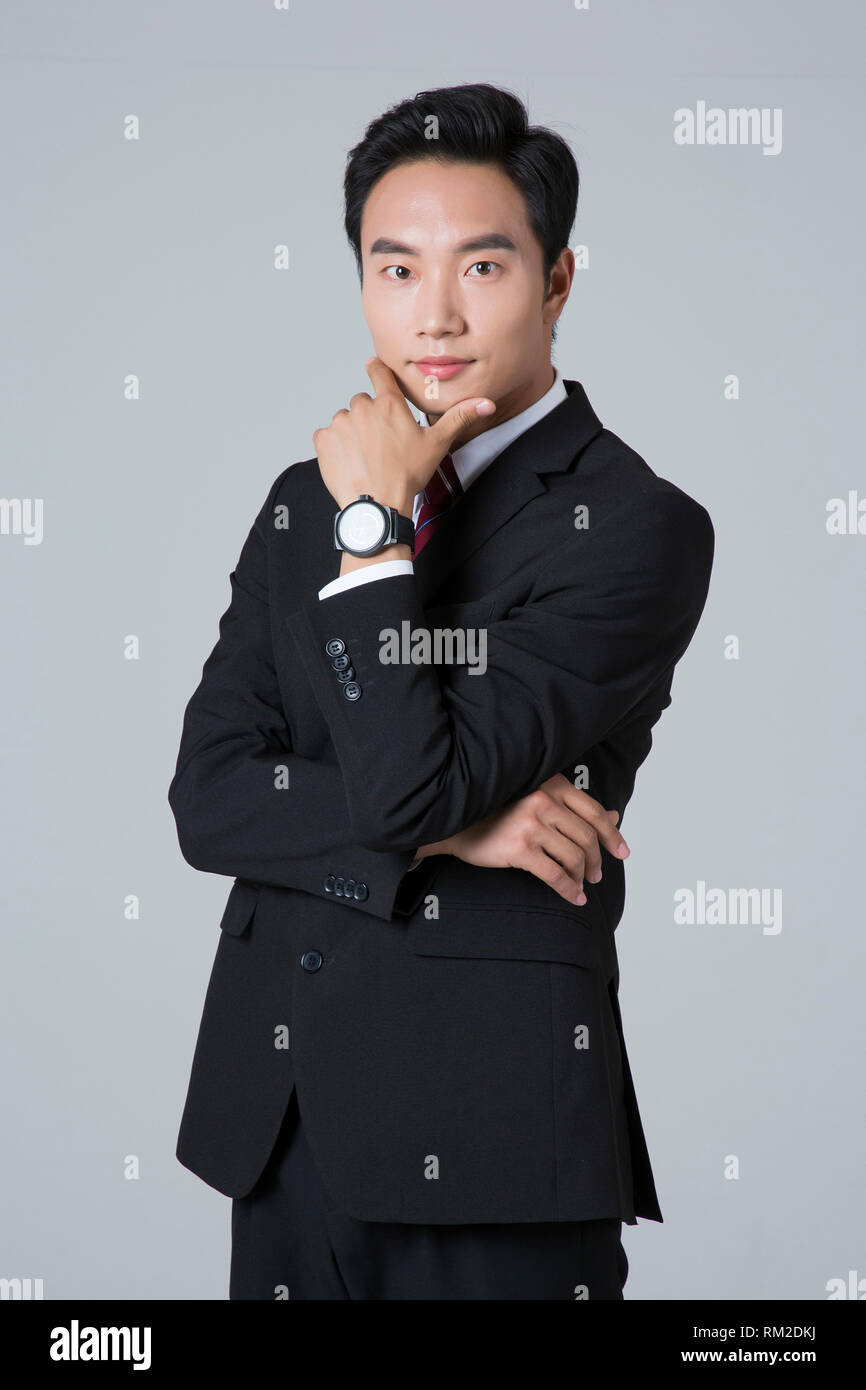 Young businessman concept photo. 007 - Stock Image