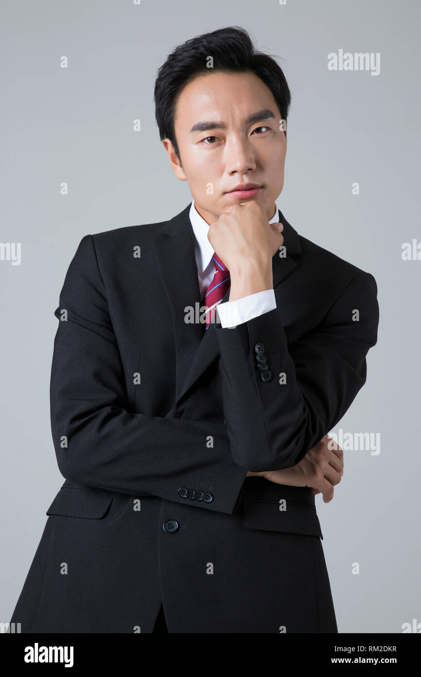 Young businessman concept photo. 005 - Stock Image