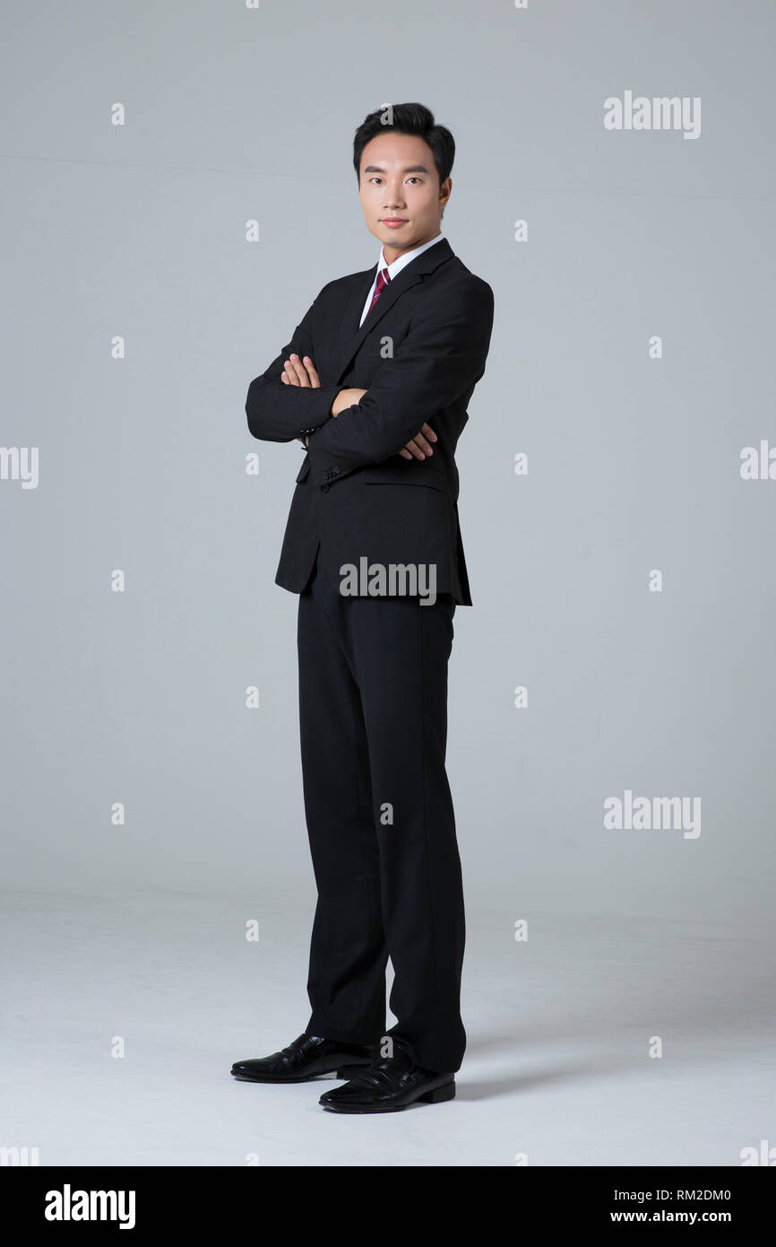 Young businessman concept photo. 004 - Stock Image