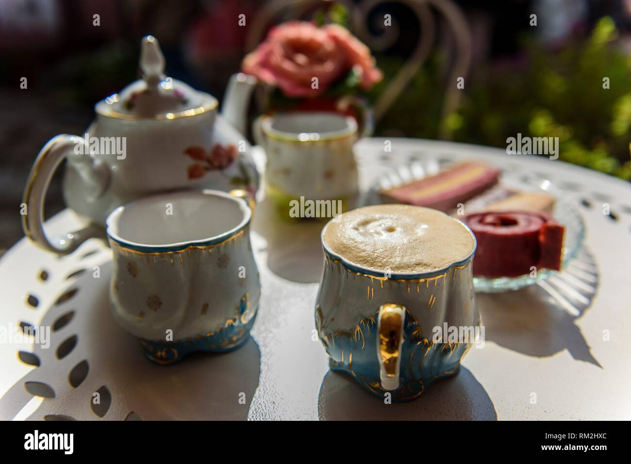 Russia, Kolomna. Traditional products in the Museum Pastila Factory. Stock Photo