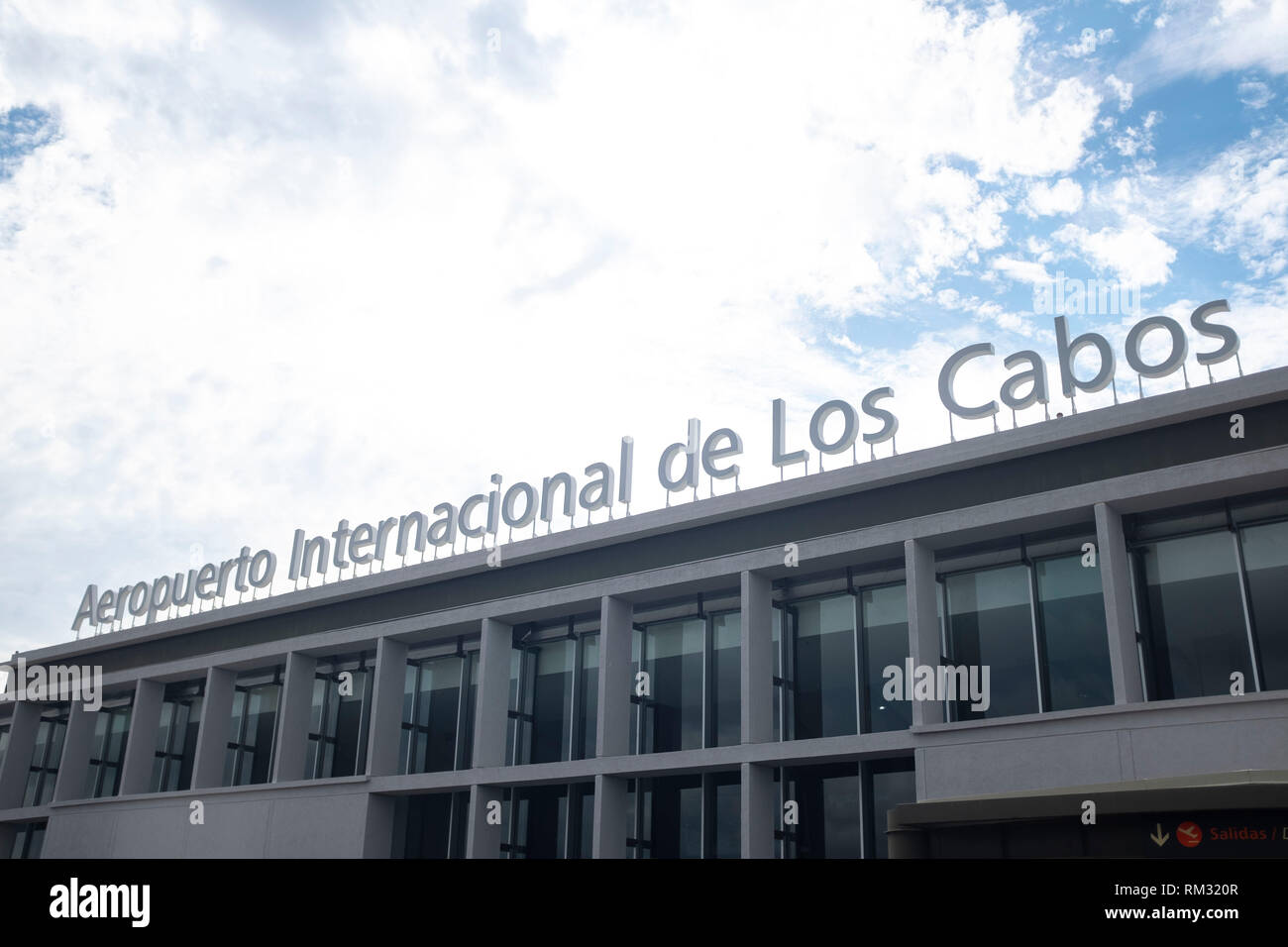 International Airport in Cabo San Lucas Mexico Stock Photo - Alamy