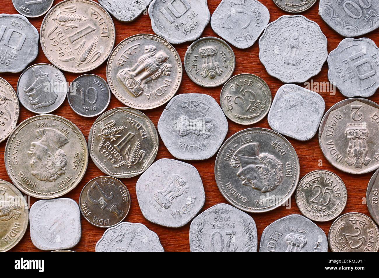 Indian Paisa Stock Photos & Indian Paisa Stock Images - Alamy