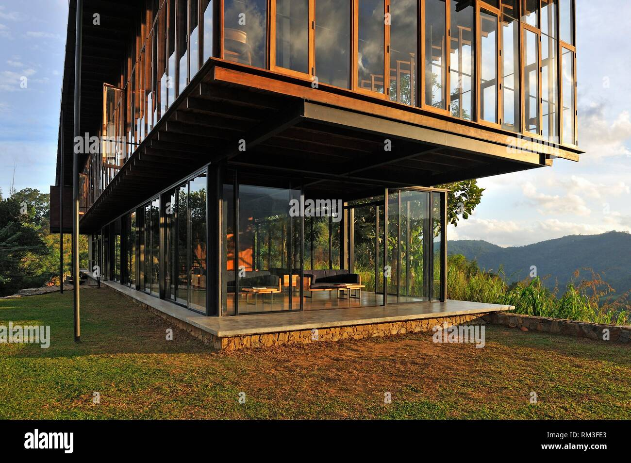 Santani Wellness Resort, Arantenna Estate,. Werapitiya, Kandy, Sri Lanka, Indian subcontinent, South Asia. - Stock Image