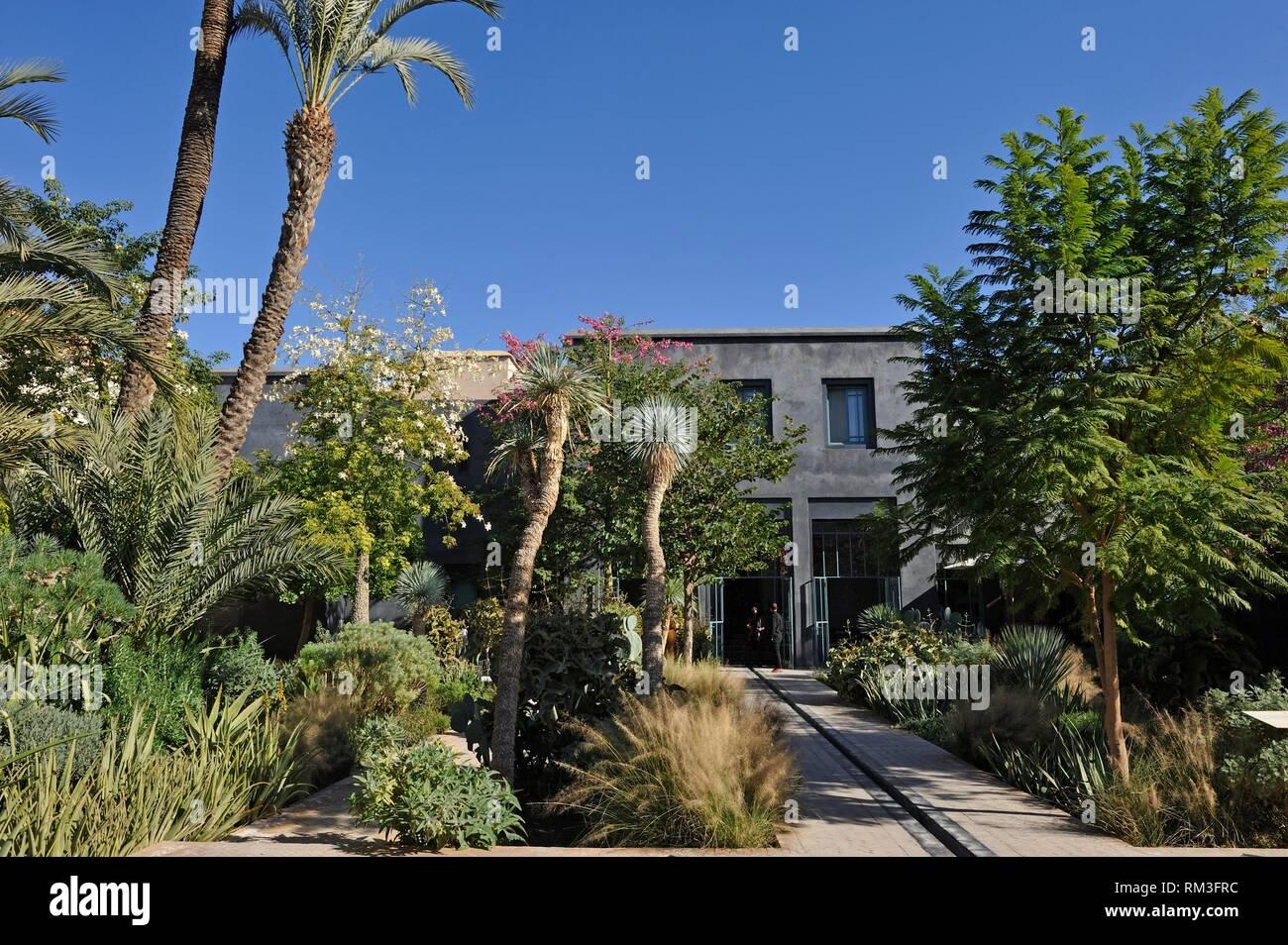 Jardin Secret, medina, , Marrakesh, Morocco, North Africa. Stock Photo