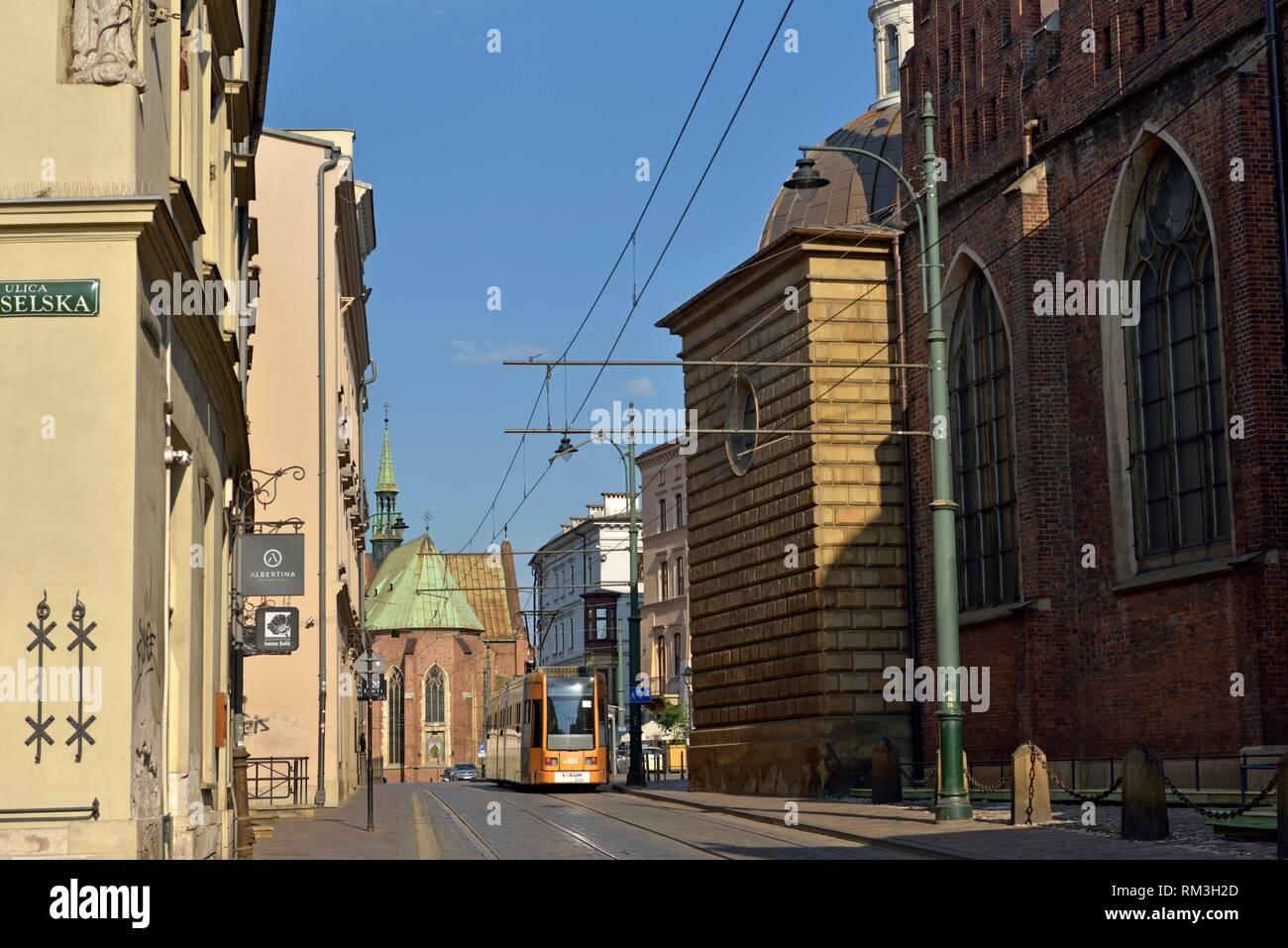 Krakow, Malopolska Province (Lesser Poland), Poland, Central Europe. - Stock Image