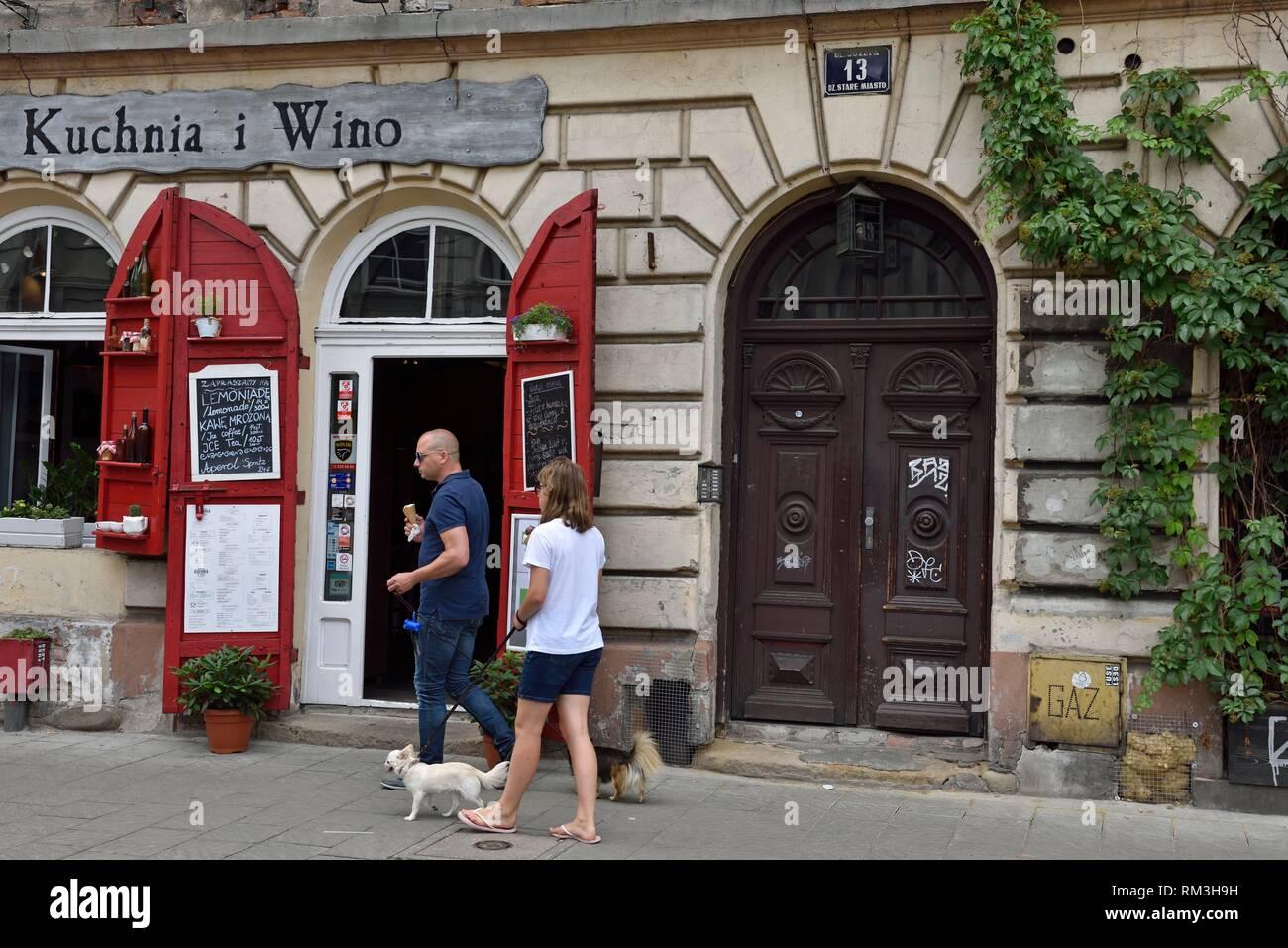 Kuchnia I Wino Restaurant In Jozefa Street District Of