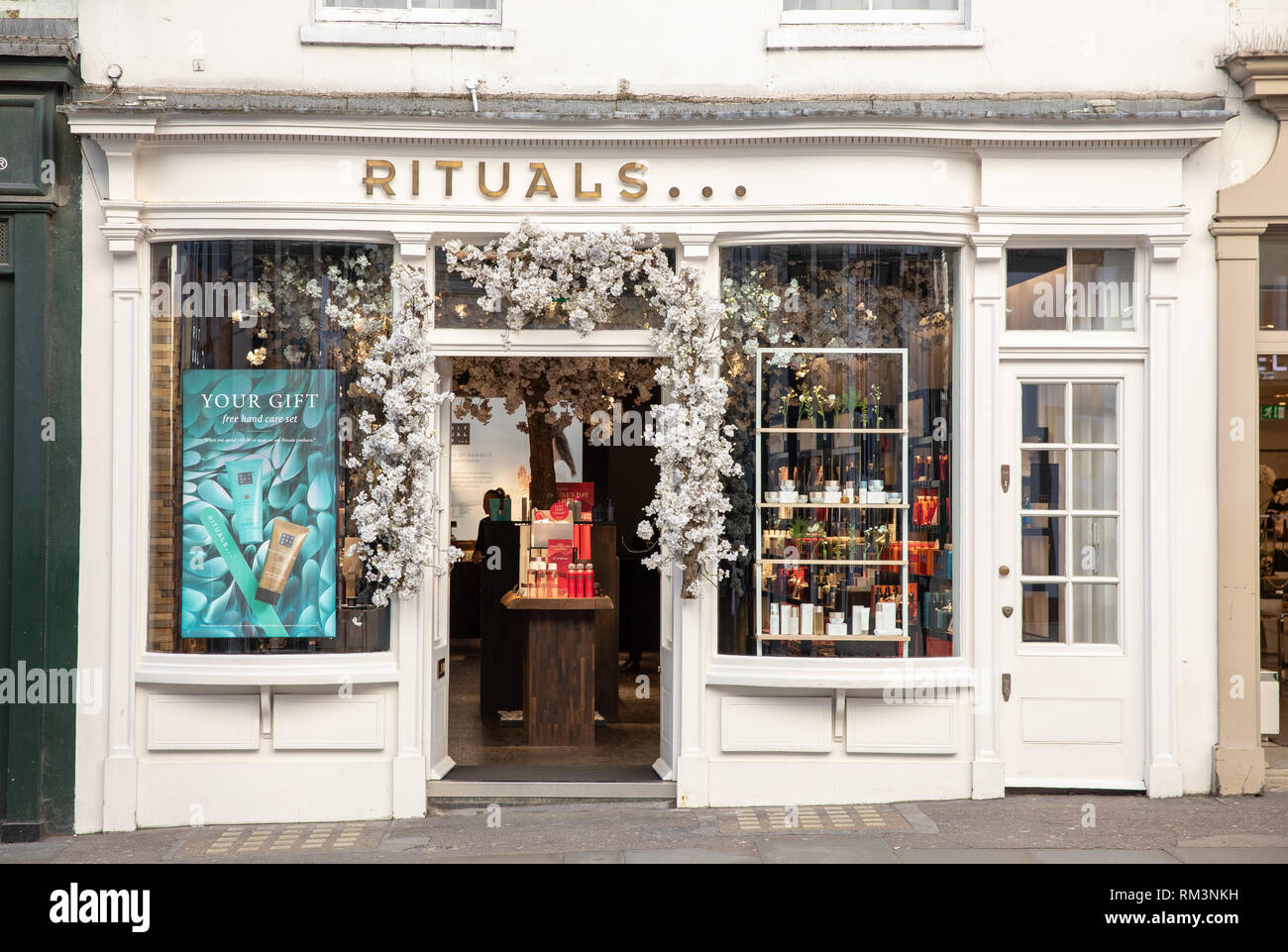 Rituals store, London, - Stock Image