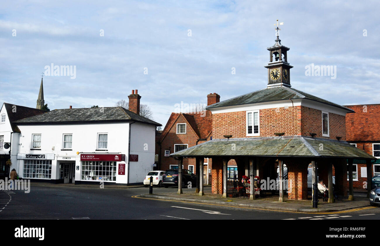 Market House, Market Square, Princes Risborough, England, UK - Stock Image