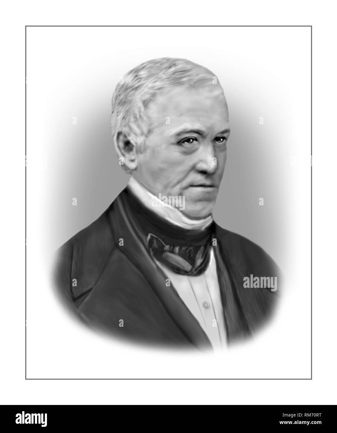 Charles Wheatstone 1802-1875 English Scientist Inventor Stock Photo