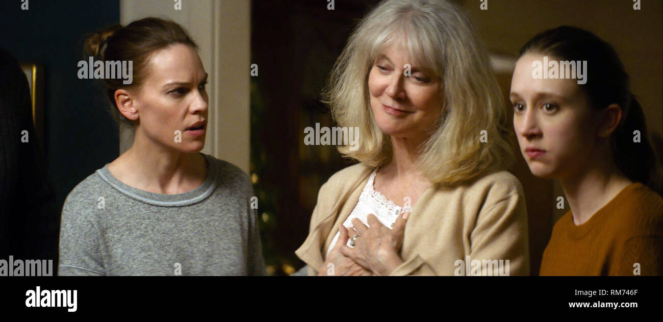 What They Had is a 2018 American drama film written and directed by Elizabeth Chomko, and starring Hilary Swank, Michael Shannon, Robert Forster, Blythe Danner, Taissa Farmiga, and Josh Lucas.    This photograph is supplied for editorial use only and is the copyright of the film company and/or the designated photographer assigned by the film or production company. - Stock Image