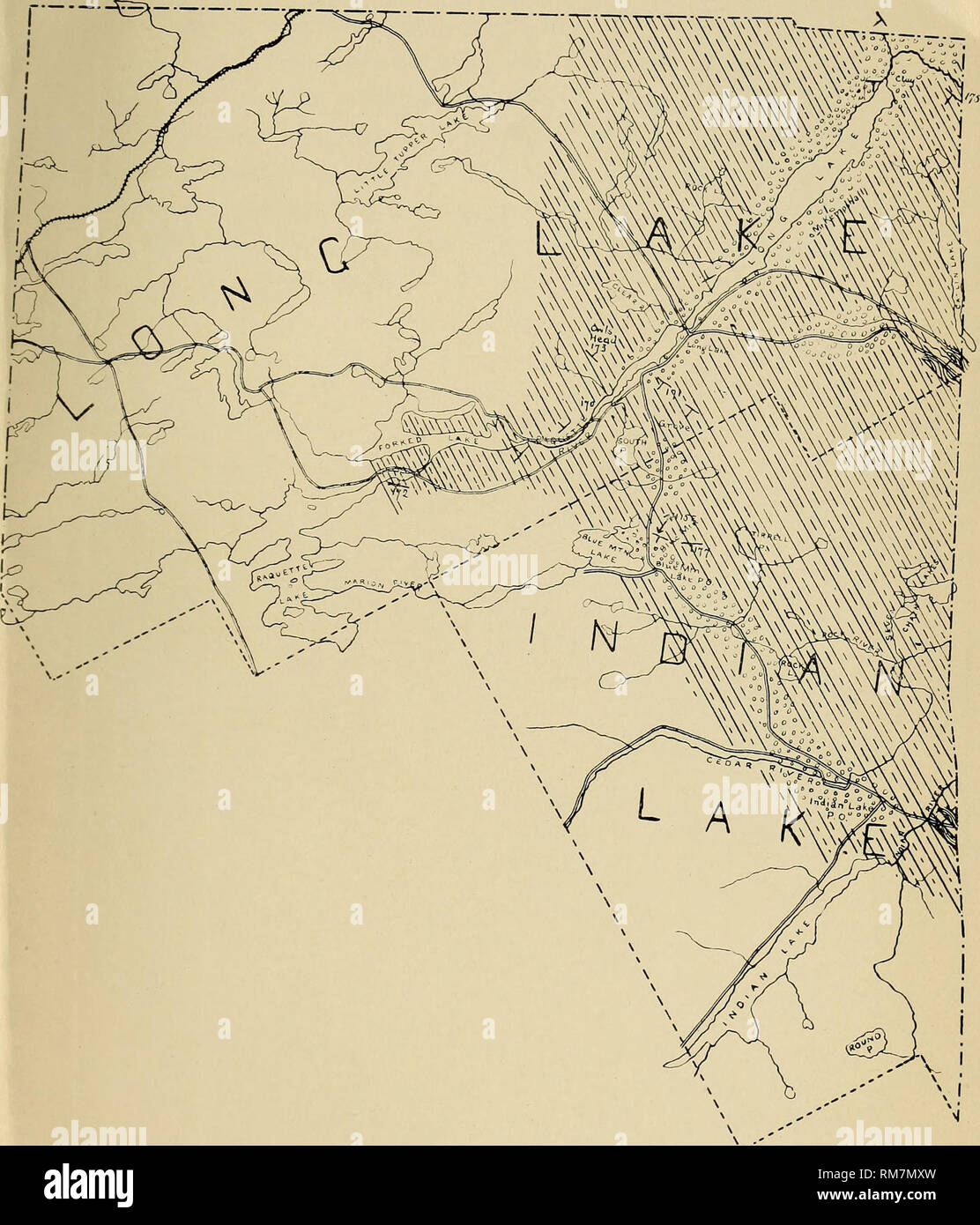 Annual report of the Regents. New York State Museum; Science ... on map of black lake new york, map of lake ontario new york, map of sand lake oregon, map of sand lake idaho, map of sand lake wyoming, map of sand lake mi,