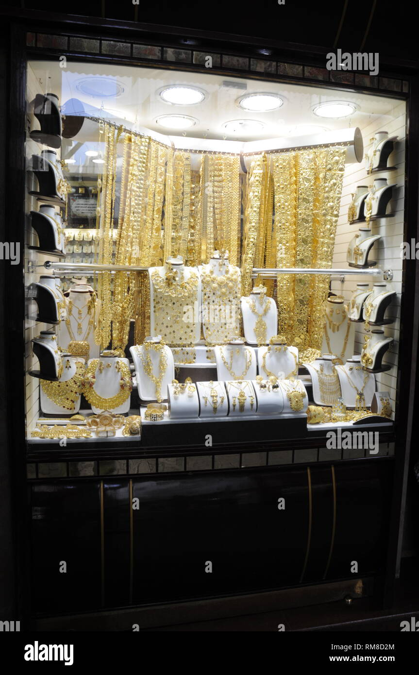 Dubai Jewellery Stock Photos & Dubai Jewellery Stock Images - Alamy