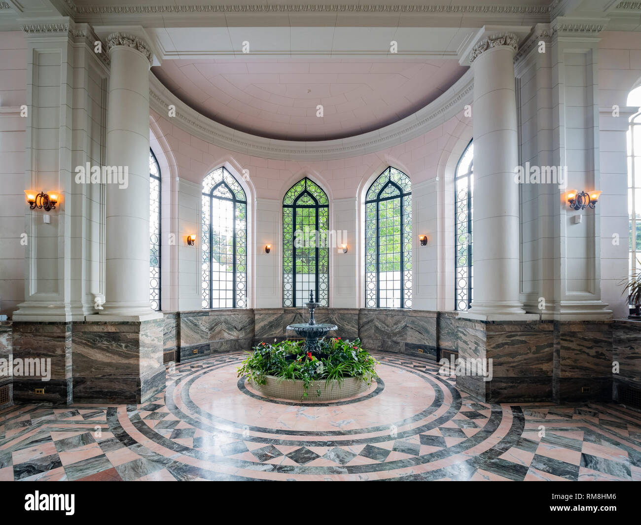 Toronto, SEP 29: Interior view of the famous Casa Loma on