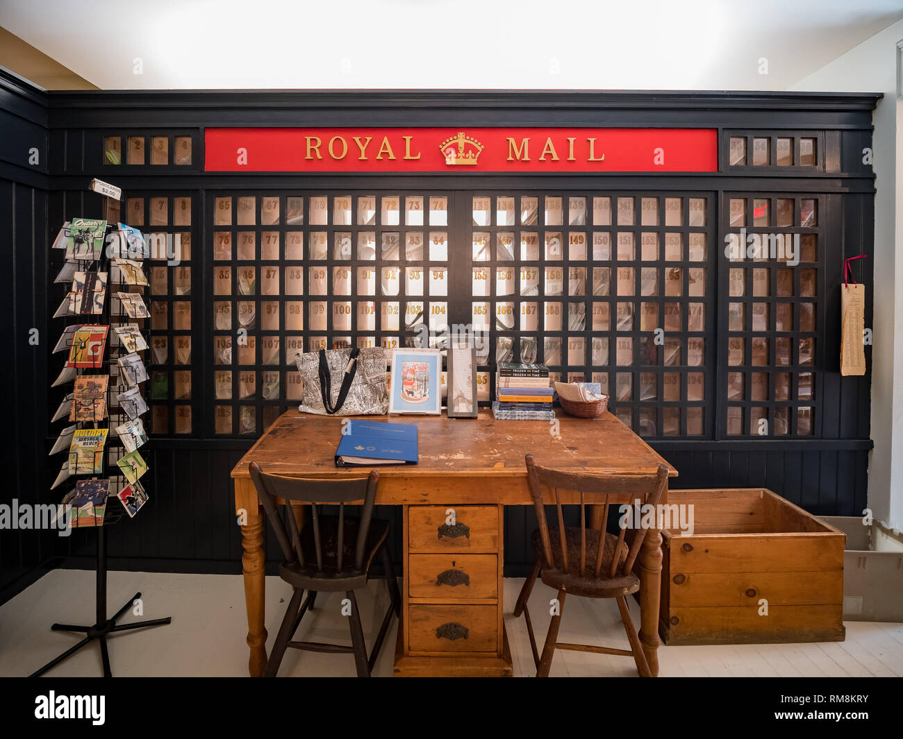 Toronto, OCT 6: Interior view of the Toronto's First Post Office on OCT 6, 2018 at Toronto, Canada - Stock Image