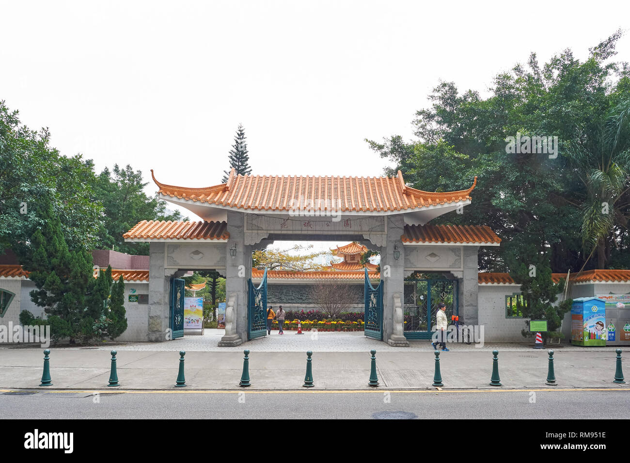 MACAO - CIRCA FEBRUARY, 2016: Macao at daytime. Macao is an autonomous territory on the western side of the Pearl River Delta in East Asia. - Stock Image