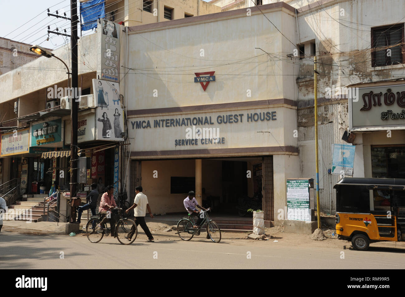 YMCA International Guest House, Madurai, Tamil Nadu, India, Asia - Stock Image