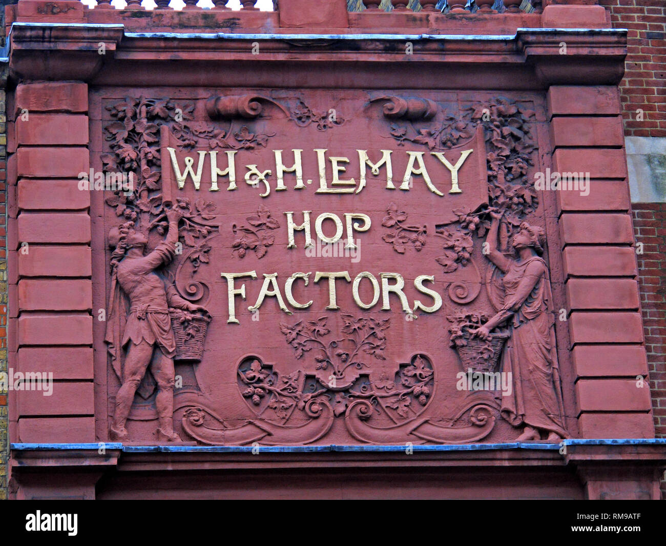WH & H Le May Hope Factors offices, 67 Borough High Street, Southwark, London, England, UK - Stock Image