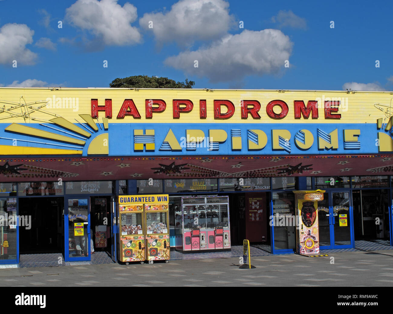 Southend Happidrome, amusement centre,Essex,South East England, UK - 52 Marine Parade, Southend-on-Sea SS1 2EN - Stock Image