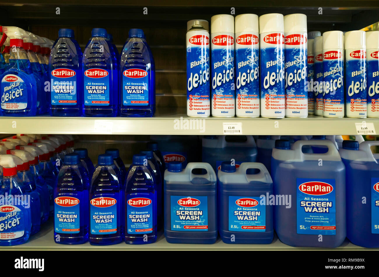 Screen Wash Stock Photos Amp Screen Wash Stock Images Alamy