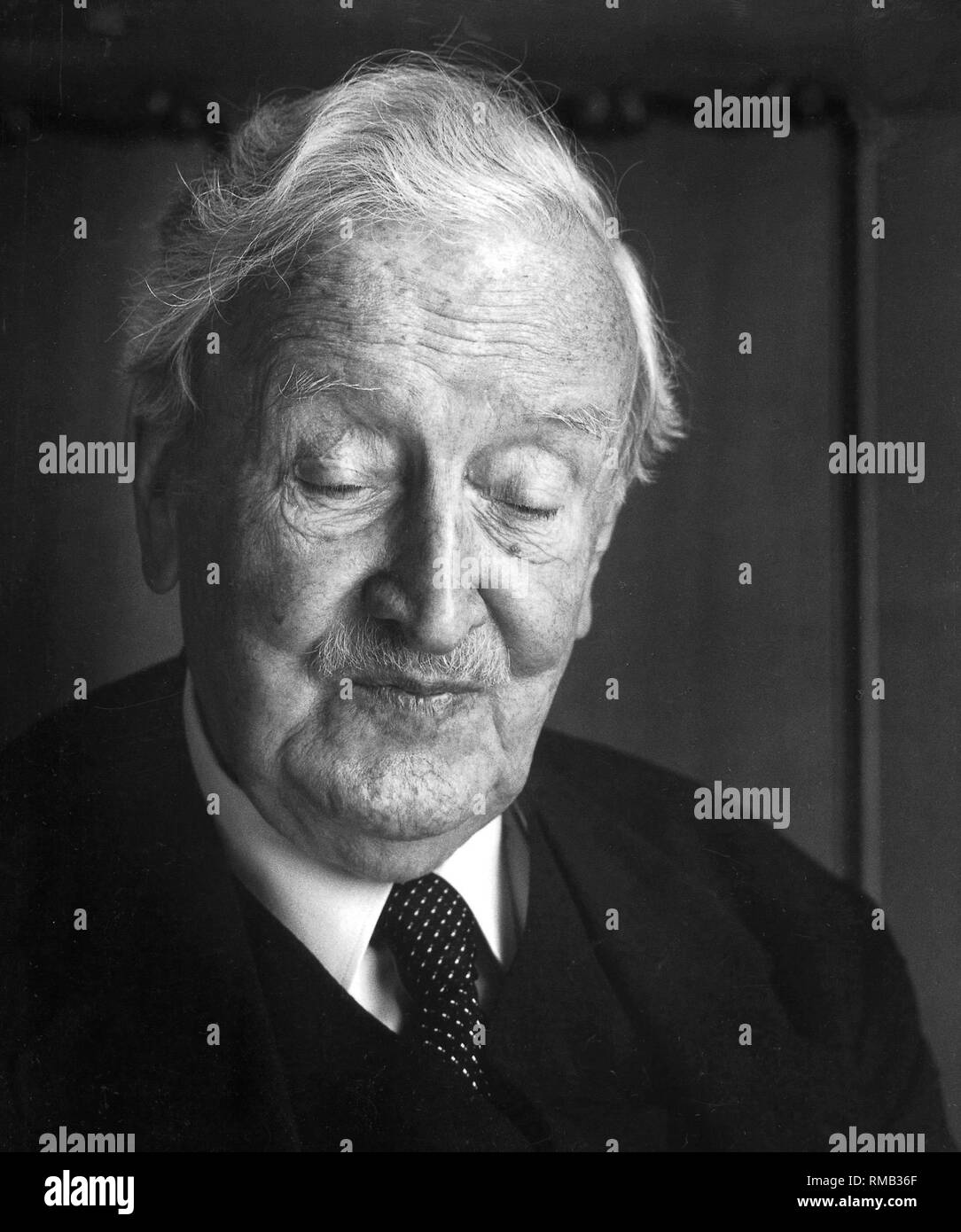 Hermann Josef Abs (1901-1994), German banking and financial expert ...