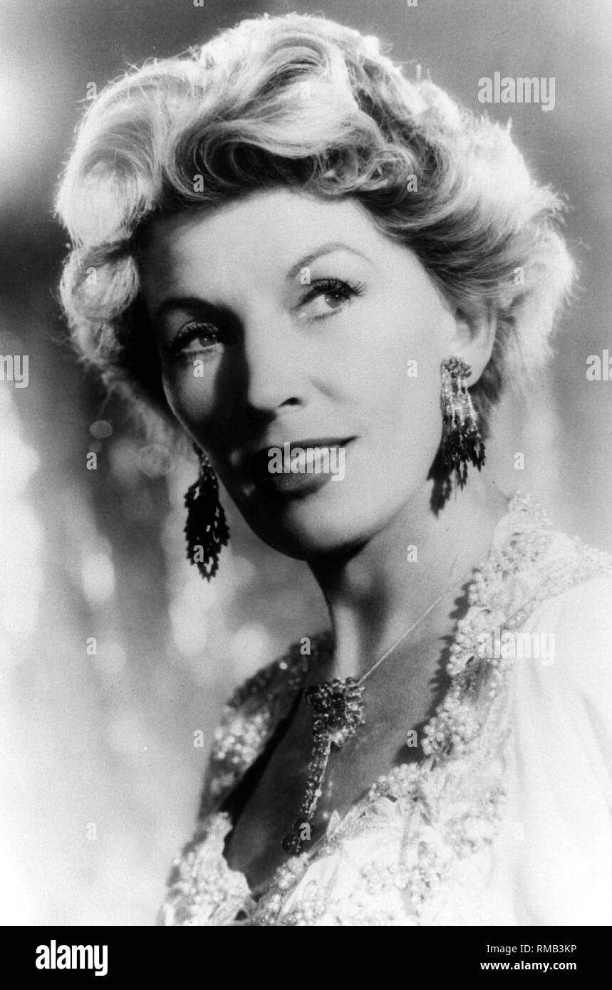 """On August 29, 2002 was the 30th death anniversary of the singer Lale Andersen (photo). The North German woman gained worldwide fame in 1941 with a single song. Her hit """"Lili Marleen"""" became the unofficial anthem of the soldiers, identifying herself, like no other interpreter, with the fictional character Lili Marleen. Lale Andersen was born Liese-Lotte Helene Berta Bunnenberg on March 23, 1905 in Lehe near Bremerhaven. She made a big comeback after the war with photos like """"Unter der roten Laterne von St. Pauli"""", """"Blaue Nacht am Hafen"""" and """"Ein Schiff wird kommen"""". Stock Photo"""