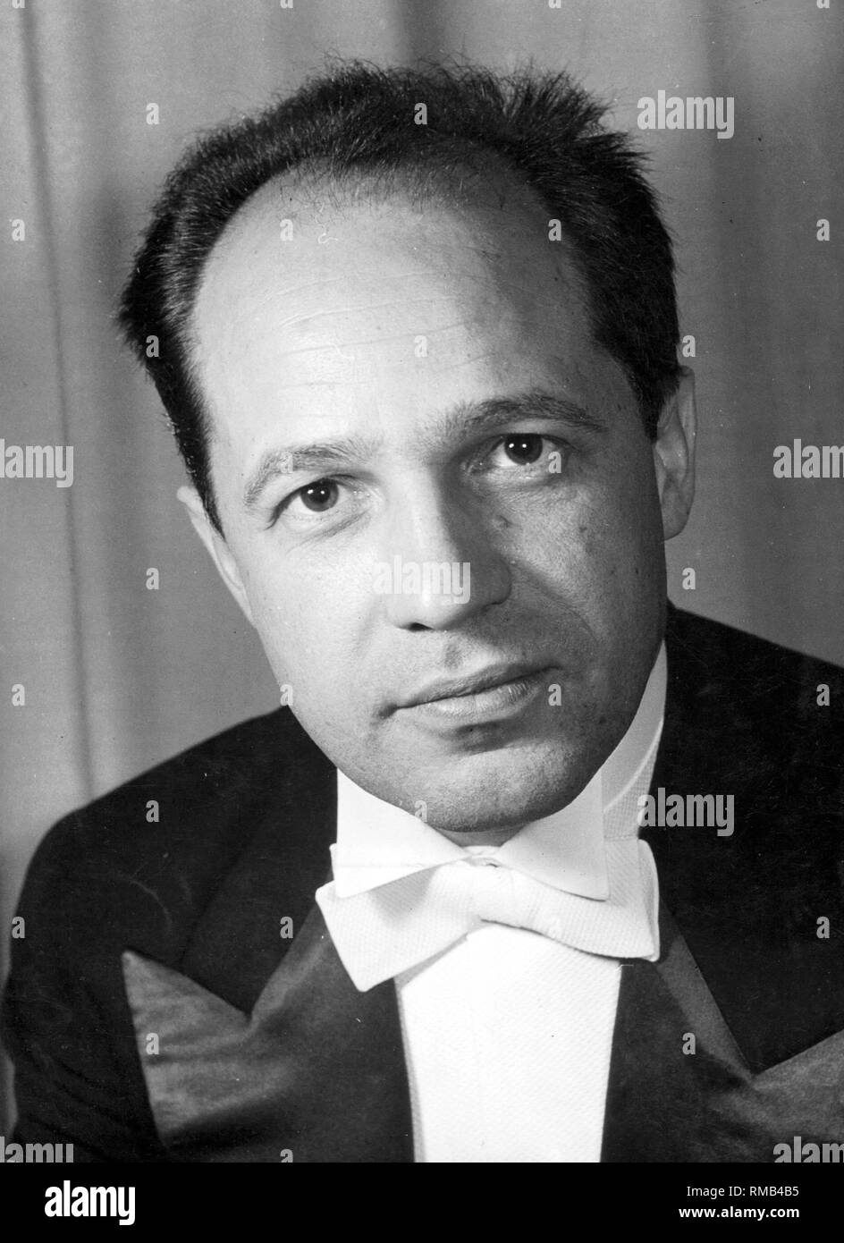 Pierre Boulez (born 1925), French composer, conductor and music writer. - Stock Image