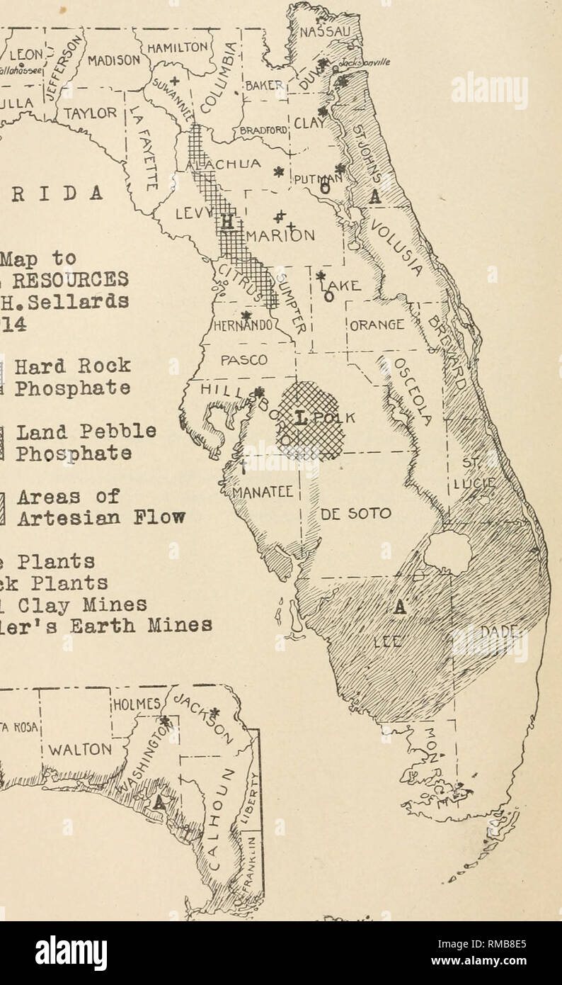 Annual Report Florida Geological Survey Geology Florida 7j