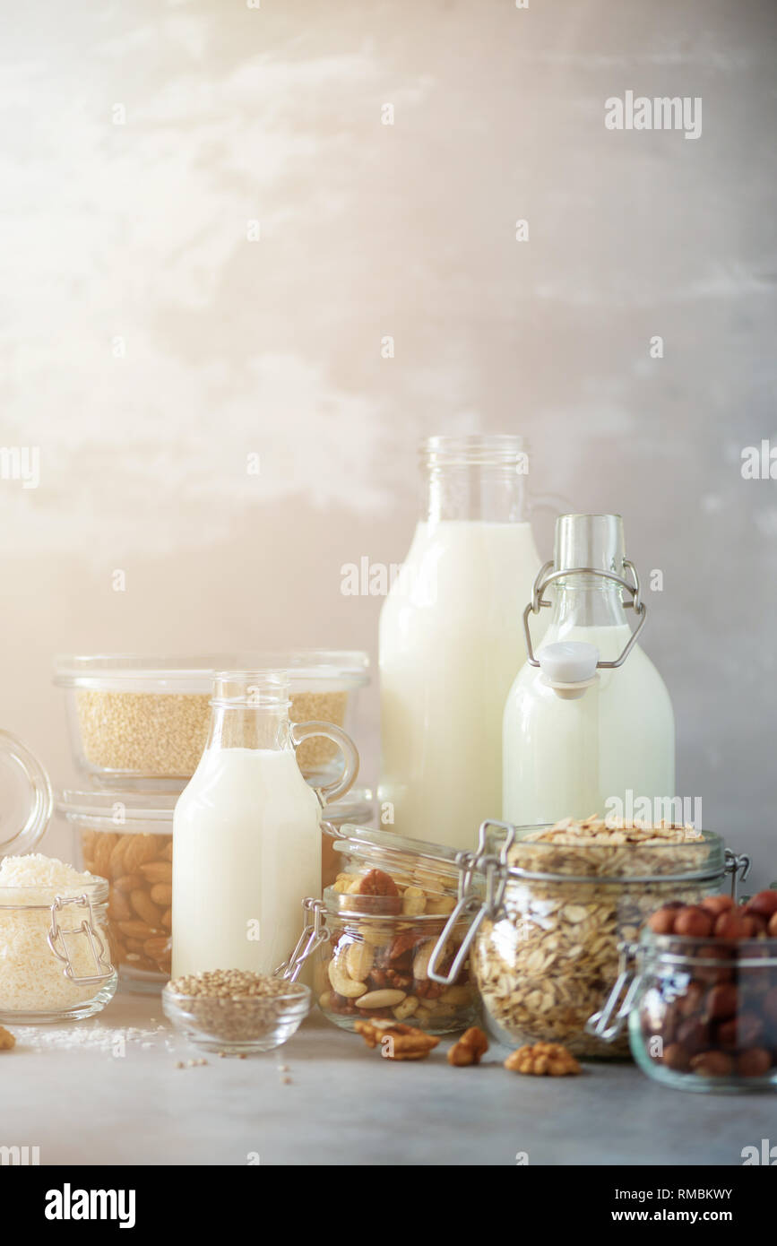 Swell Vegan Substitute Dairy Milk Glass Bottles With Non Dairy Home Interior And Landscaping Ferensignezvosmurscom