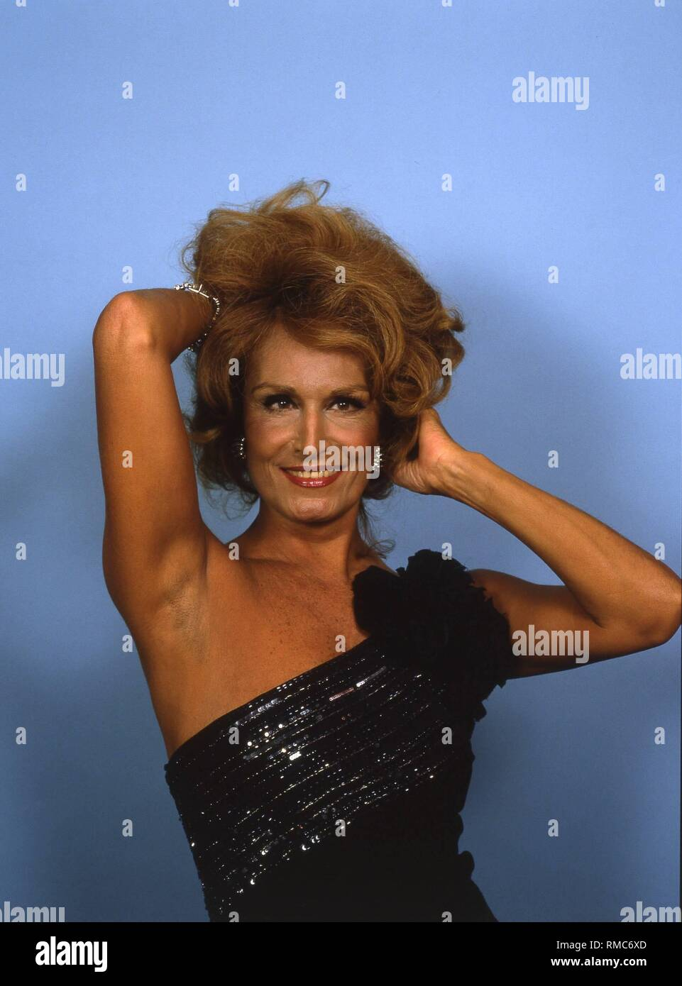 On January 17, 2003 the Italian singer and actress Dalida (photo) would have celebrated her 70th birthday. Her most famous hits include 'Ciao, ciao, Bambina' and 'The Day the Rains Came' (both 1959). Dalida, real name Yolande Gigliotti, was the daughter of Italian violinist Pietro Gigliotti. She spent her youth in Egypt, where she was elected 'Miss Egypt' in 1954. Subsequently, she moved to Paris and became successful in show business since 1956. On May 3, 1987, she was found dead in her Parisian apartment. According to the police, she died of an overdose of sleeping pills. - Stock Image