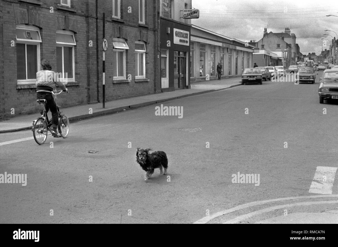 1970s Limerick, in County Limerick, Eire.  West Coast of Southern Ireland 70s HOMER SYKES - Stock Image