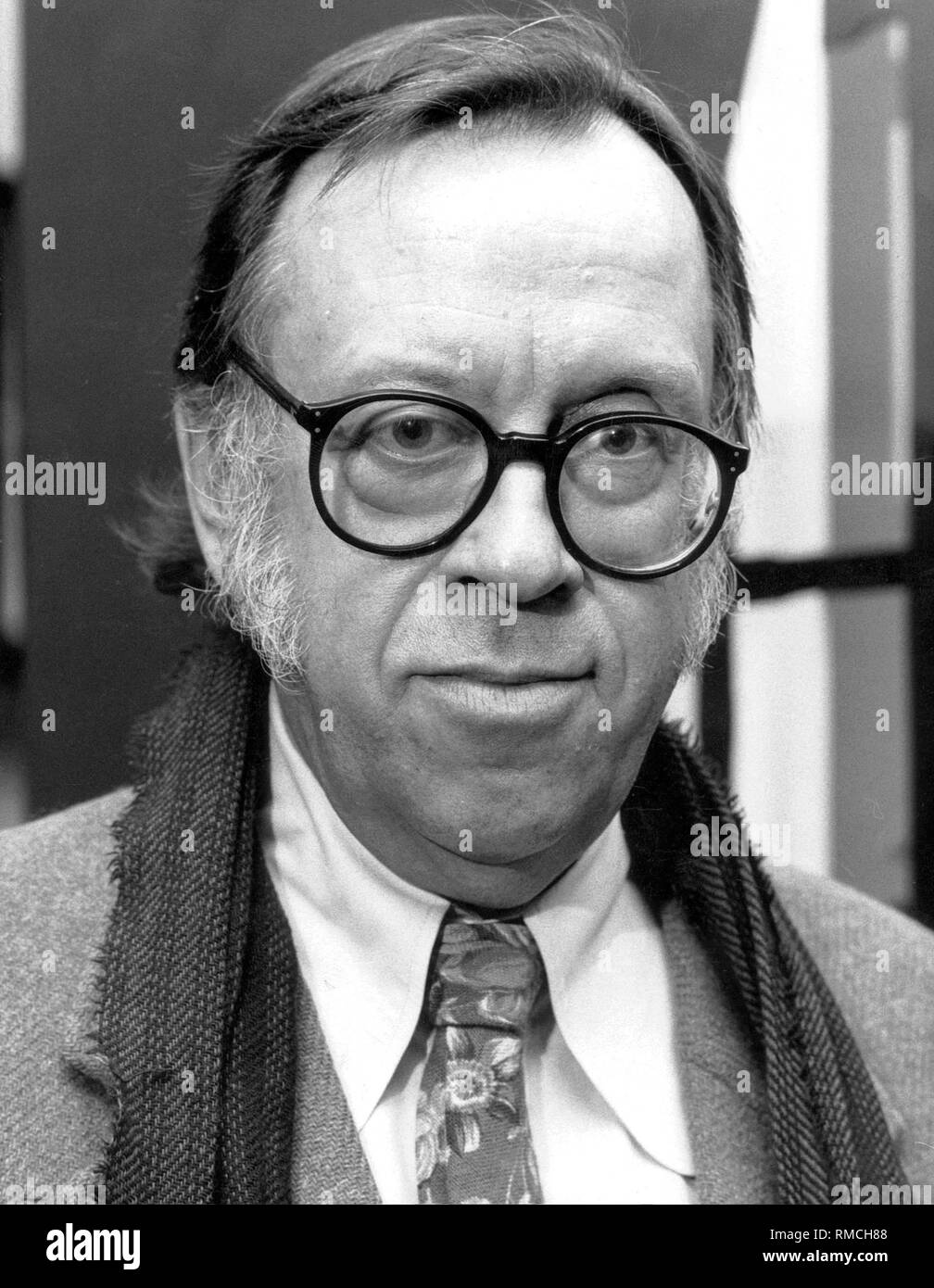 Enno Patalas, director of the Munich Film Museum. - Stock Image