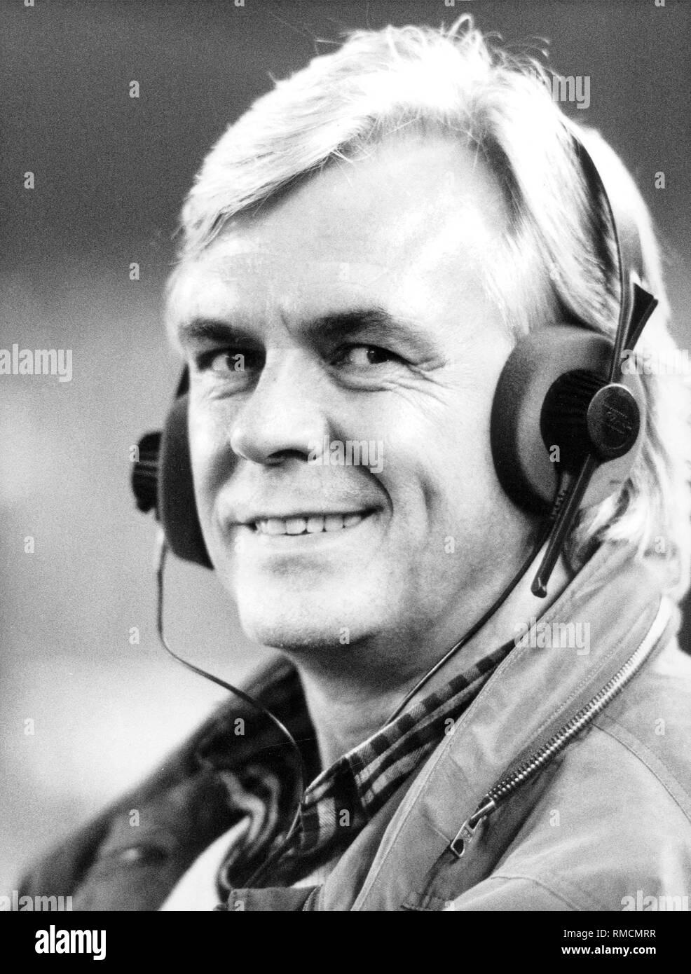 Dieter Kuerten, TV journalist and sports director of ZDF. - Stock Image